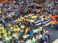 Jóvenes de las seis Diócesis la montan en Ponce