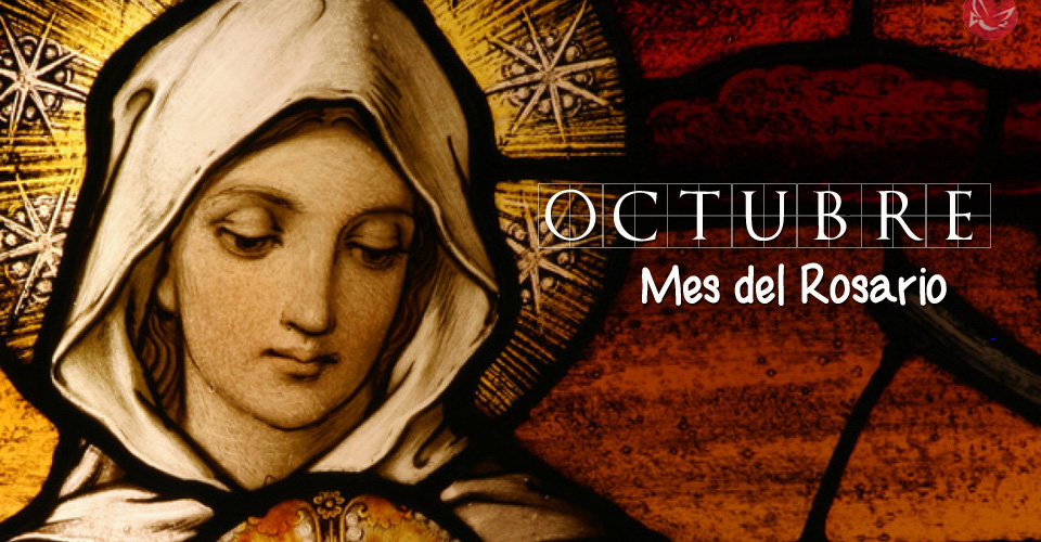 Resultado de imagen de octubre mes del rosario