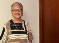 Olga Aldea ofrece sus talentos al servicio del Señor