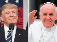 El Papa Francisco recibirá al Presidente de Estados Unidos Donald Trump