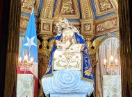 Reinstalan imagen original de Patrona Nacional en su 165 Aniversario