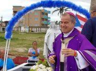 Fiesta mariana en Punta Santiago