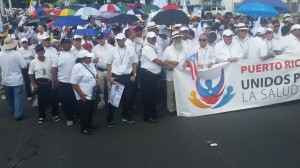 Marcha Unidos por la Salud