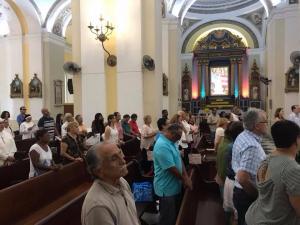 Celebración por la Patrona Nacional en la Catedral de San Juan