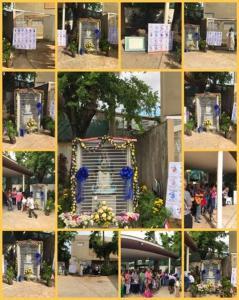 Celebración de la Virgen de la Providencia en la Parroquia la Resurrección del Señor, comunidad las Lomas y Villa España en San Juan