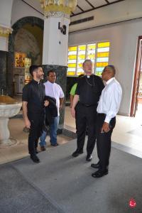Cardenal Cupich en la Catedral de Caguas
