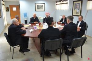 Cardenal Cupich se reúne con el Delegado Apostólico y con los Obispos de Puerto Rico