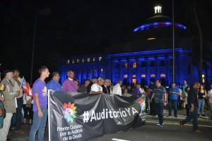 3 de abril: Vigilia Auditoría deuda de PR