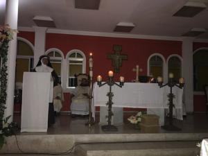 Profesión de votos solemnes de Sor Dolores, OSC